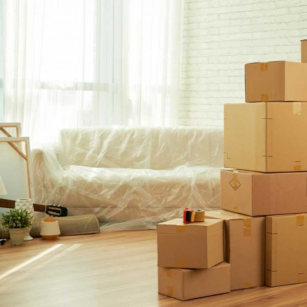 Stacked Moving Boxes   We Organize Florida - Professional Home, Office, and Retail Organizers in Southwest Florida