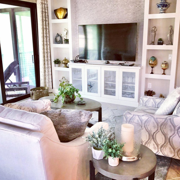 Living Area Organization   We Organize Florida - Professional Home, Office, and Retail Organizers in Southwest Florida