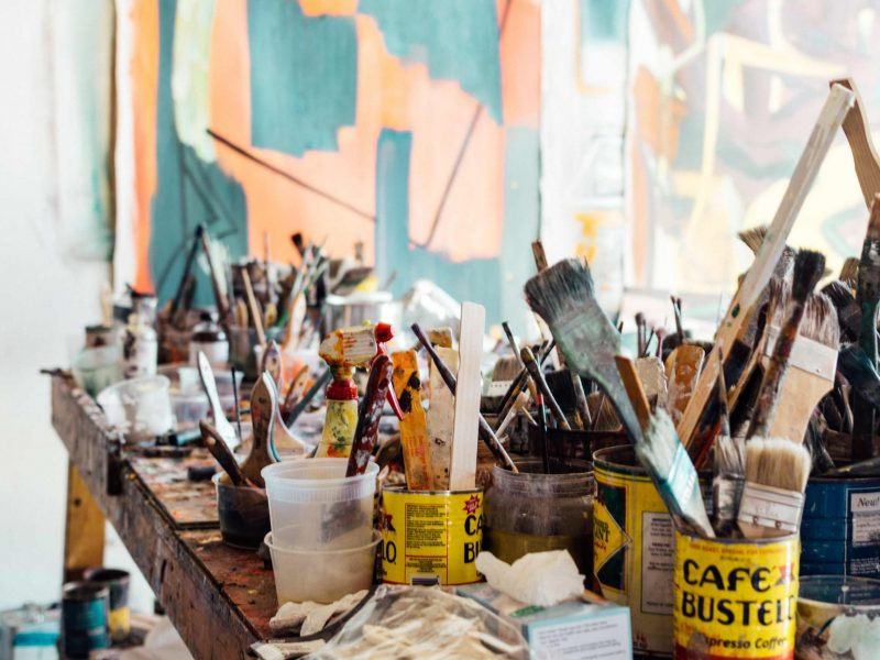 Painting Table   We Organize Florida - Professional Home, Office, and Retail Organizers in Southwest Florida
