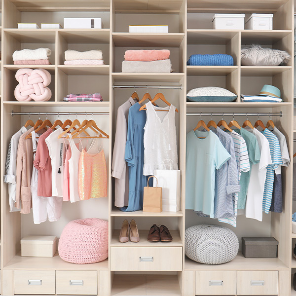 Women's Closet   We Organize Florida - Professional Home, Office, and Retail Organizers in Southwest Florida